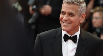 George Clooney in Giorgio Armani - Photo by Stefania D'Alessandro/WireImage - Courtesy of Giorgio Armani Press Office