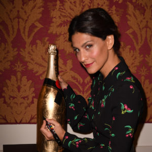 Giulia Bevilacqua durante il Charity Party con Moët & Chandon