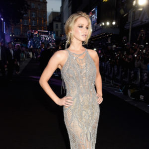 LONDON, ENGLAND - SEPTEMBER 06:  Actress Jennifer Lawrence attends the 'Mother!' UK premiere at Odeon Leicester Square on September 6, 2017 in London, England.  (Photo by Dave J Hogan/Dave J Hogan/Getty Images)