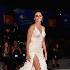 VENICE, ITALY - SEPTEMBER 06:  Penelope Cruz walks the red carpet ahead of the 'Loving Pablo' screening during the 74th Venice Film Festival at Sala Grande on September 6, 2017 in Venice, Italy.  (Photo by Pascal Le Segretain/Getty Images)