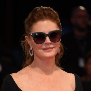 Susan Sarandon, fashion detail, from Kineo delegation walks the red carpet ahead of the 'The Leisure Seeker (Ella & John)' screening during the 74th Venice Film Festival at Sala Grande on September 3, 2017 in Venice, Italy.  (Photo by Venturelli/WireImage)