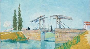 Wallraf-Richartz-Museum & Fondation Corboud, WRM, Gemäldesammlung, WRM 1197, Vincent van Gogh, Die Zugbrücke, 1888, Öl auf Leinwand, 49,5 x 64,5 cm