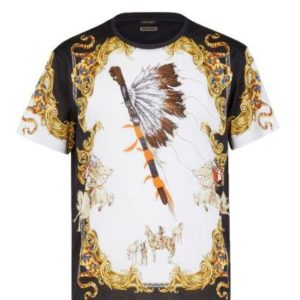 Versace Tribute T-Shirt - Native Americans
