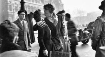 Robert Doisneau, Le baiser © Atelier Robert Doisneau