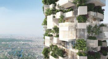 Balcon sur Paris - Stefano Boeri Architetti - La Forêt Blanche