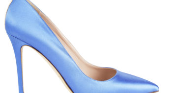 Amazon Moda, capsule collection by Sarah jessica Parker - Fawn Blue Satin