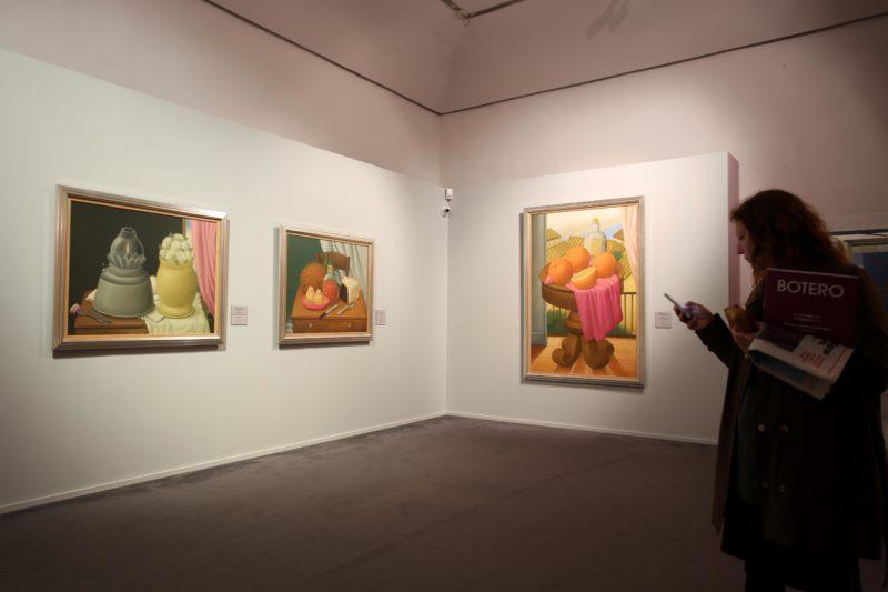 """Allestimento della mostra """"Botero"""", Verona - Courtesy of Arthemisia Press Office"""