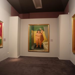 "Allestimento della mostra ""Botero"", Verona - Courtesy of Arthemisia Press Office"