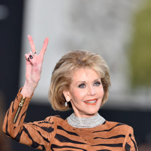 Jane Fonda - Photo by Kristy Sparow/Getty Images for L'Oreal
