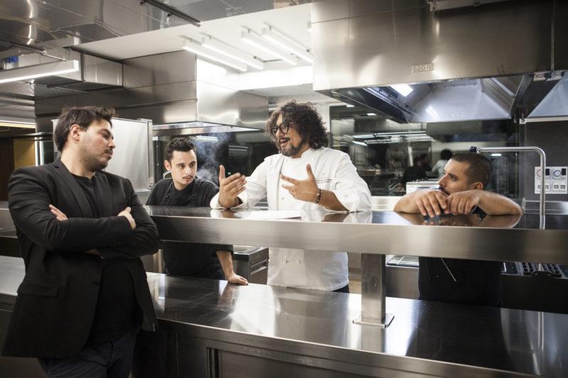 Alessandro borghese nuovo ristorante a milano ecco ab for Ab il lusso della semplicita
