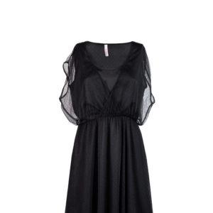 Vestito nero in tulle - Sun68