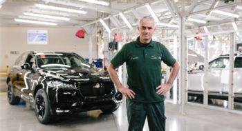 José Mourinho Jaguar