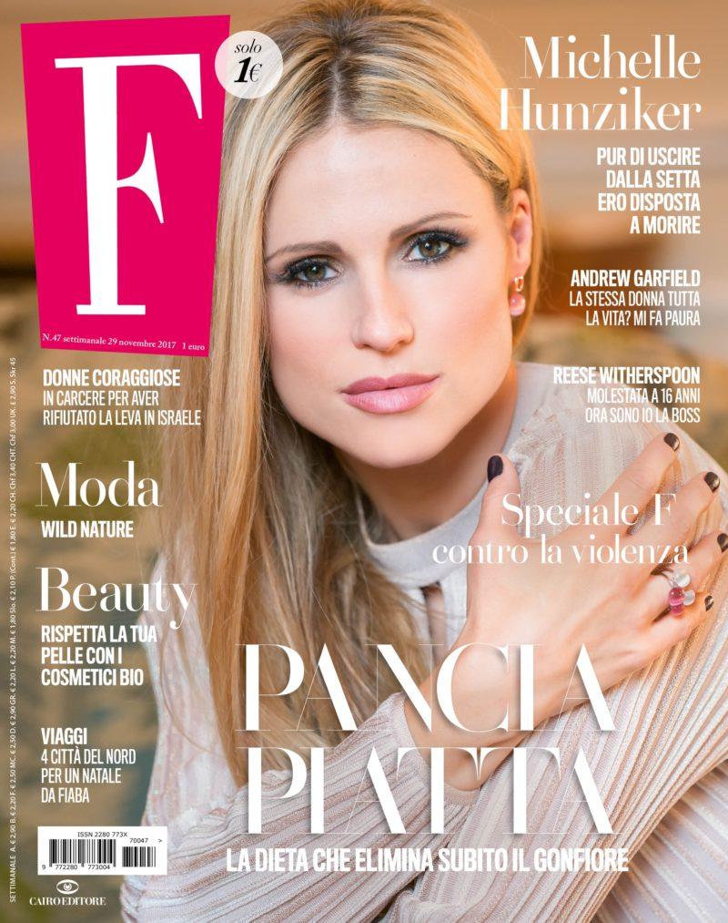 """Il numero di """"F"""" in edicola da domani - Courtesy of Ufficio Stampa Cairo Editore"""