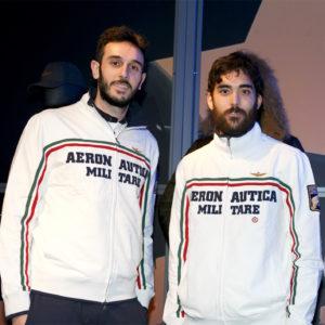 Aeronautica Militare - Da sx Paolo Nicolai e Daniele Lupo