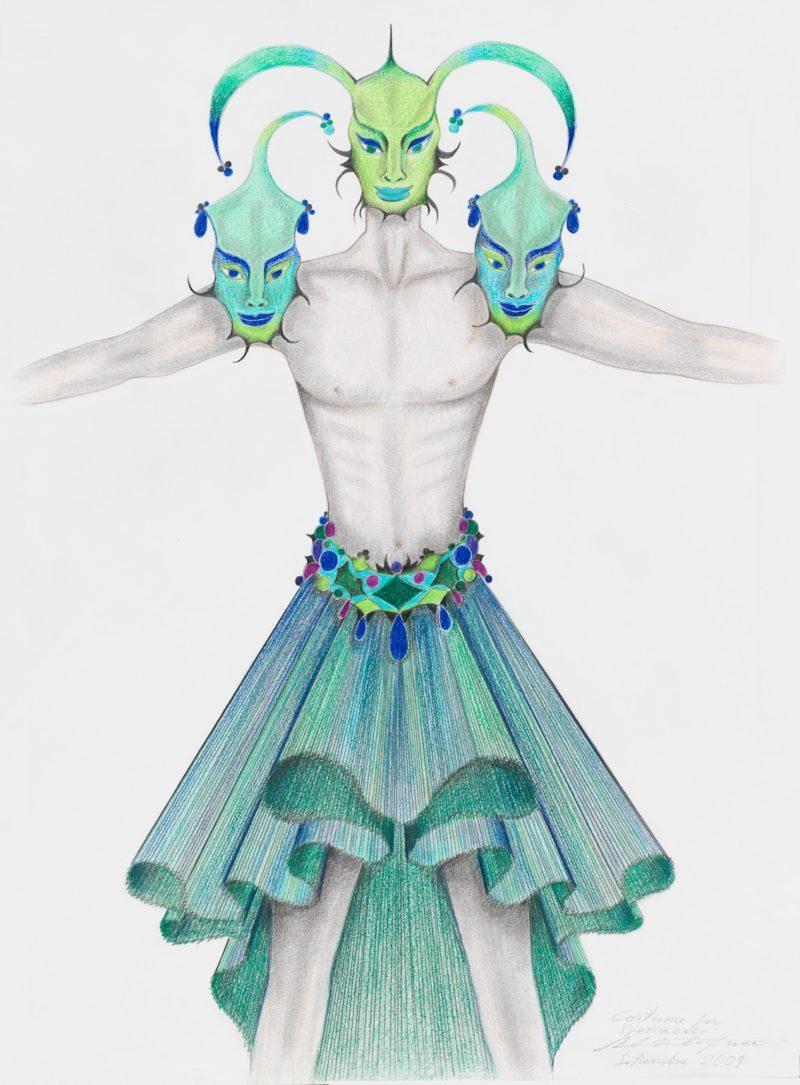 Costume per spettacolo, Settembre 2009