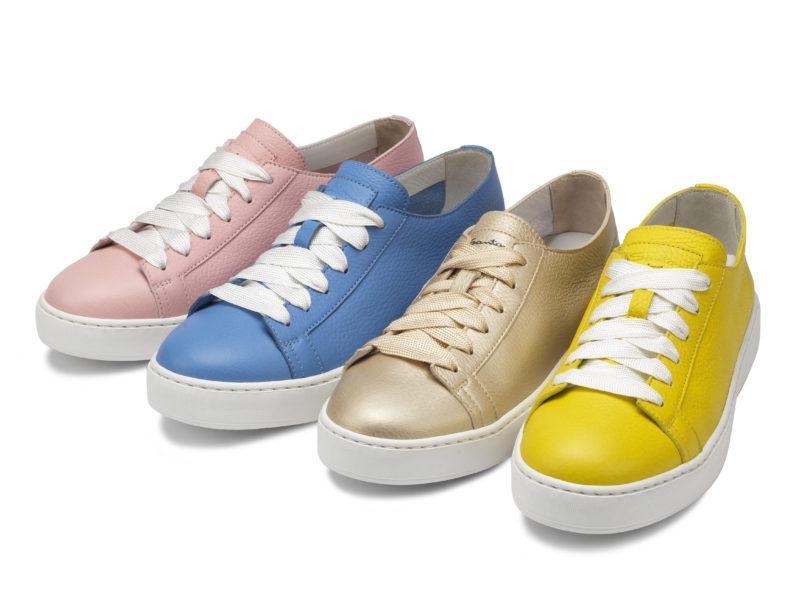 """Tendenze scarpe Primavera Estate 2018  Santoni presenta un """"arcobaleno di  sneakers"""" 9f40a2801fa"""