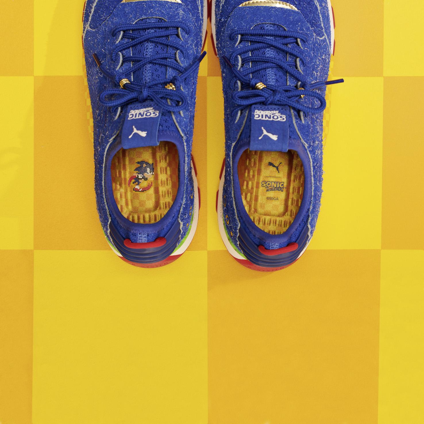 Tendenze scarpe 2018  Puma e Sega annunciano il nuovo modello (FOTO ... 925c3fc9d7b