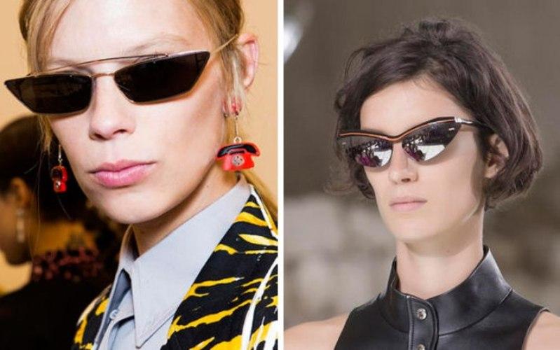 scarpe di separazione 2de6a 563b2 Tendenze occhiali da sole donna primavera-estate 2018: tutti ...