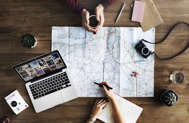 pianificare viaggio vacanza