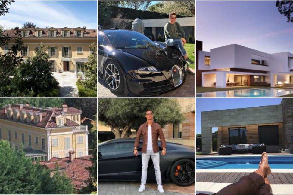 Cristiano ronaldo dove vive a torino vuole la villa del for Casa moderna torino