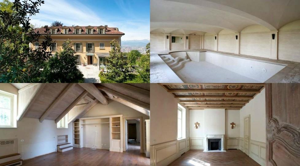 Cristiano ronaldo dove vive a torino vuole la villa del for Casa moderna a torino