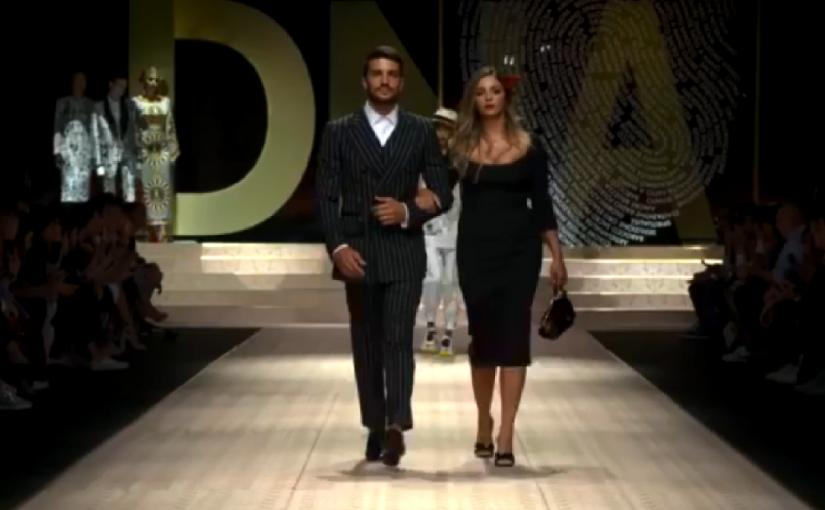 Milano Fashion Week Mariano Di Vaio E La Moglie Elonora