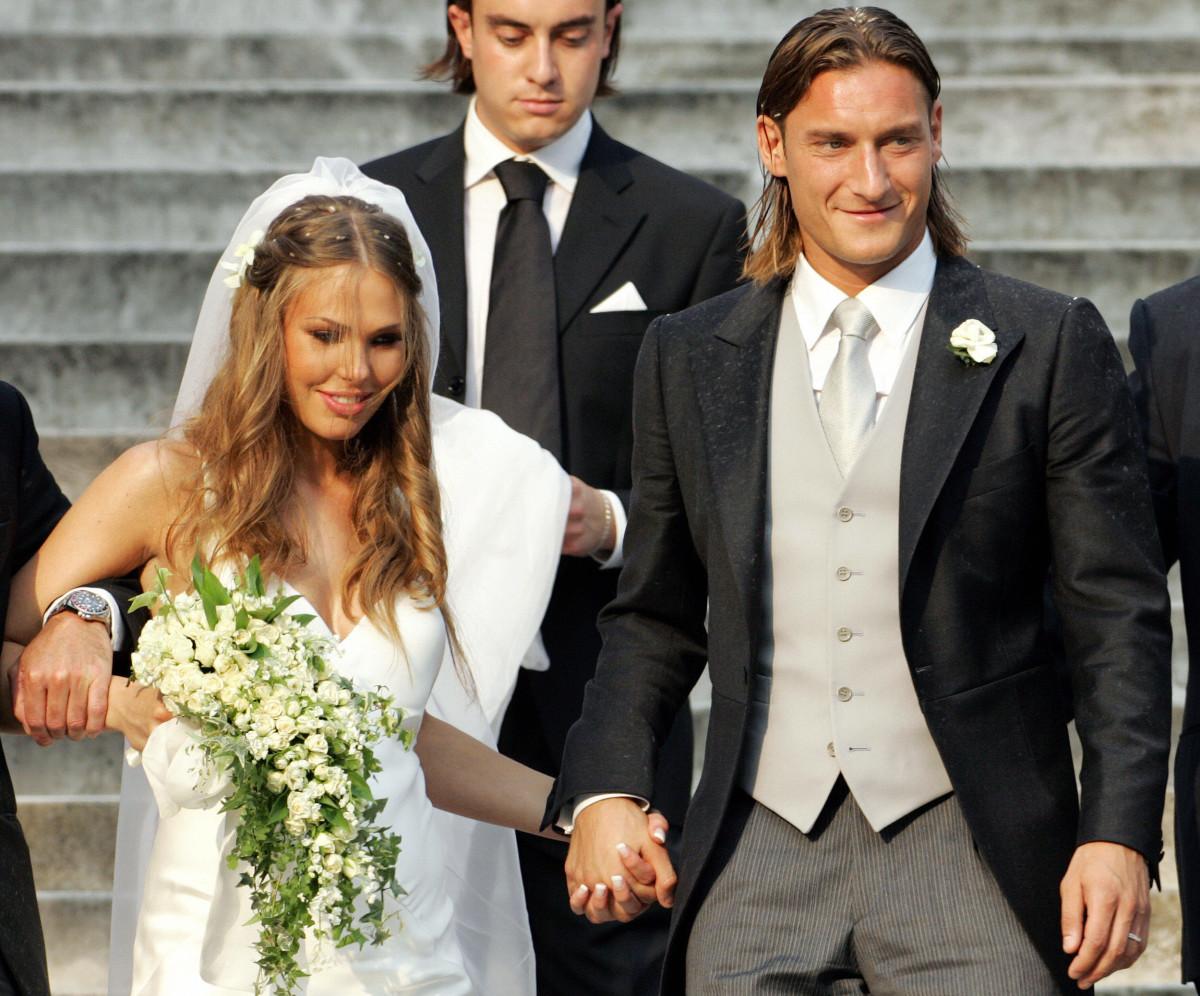 Ilary Blasi e la lite con Corona: come ha reagito Francesco Totti