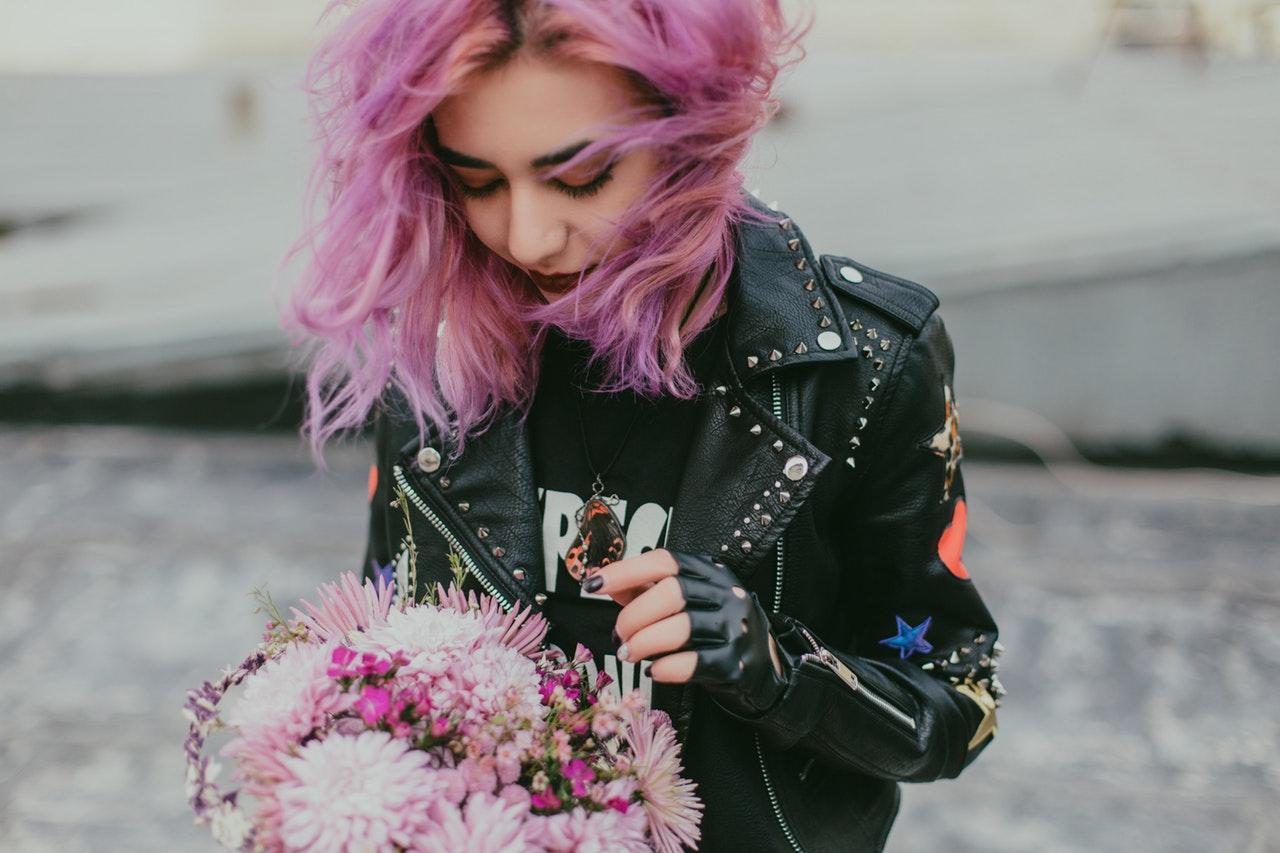pink hair 2019