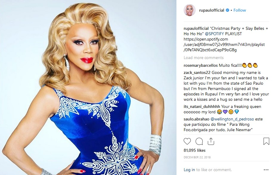 ru paul drag queen