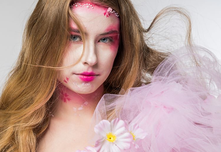 Cherry Blossom make up 2019