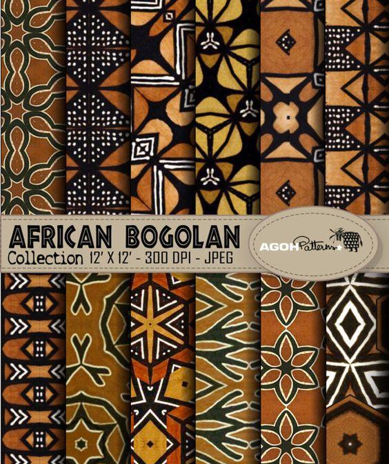 bogolan tessuto africano
