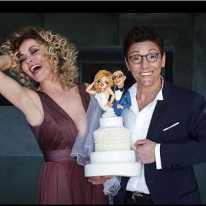 Enzo Miccio organizza le nozze arcobaleno di Eva Grimaldi e Imma Battaglia