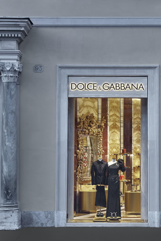 73efb97f98 Dolce & Gabbana new opening in Piazza di Spagna, Roma