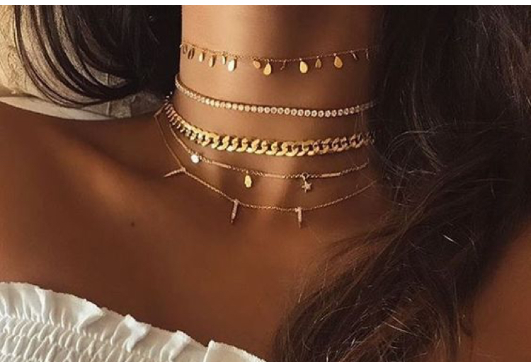 prezzi economici a basso costo nuovo economico Bijoux tendenze 2019: orecchini, collane, bracciali e anelli