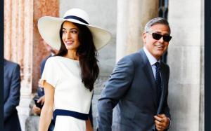 Amal e George Clooney ti invitano a cena sul Lago di Como: è per beneficenza!