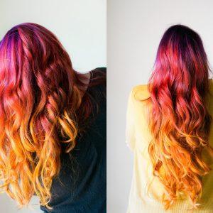I sunset hair sono tornati e vi faranno innamorare: intramontabile trend Primavera/Estate 2019