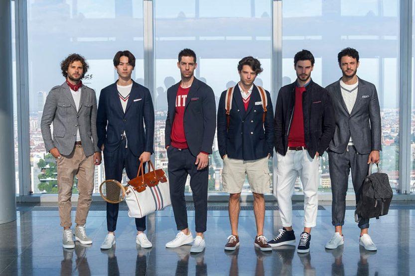 Moda uomo Estate 2019: un'ondata di bianco crema e anni '90