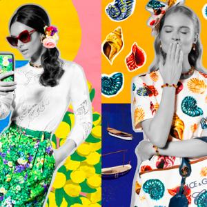 Dolce&Gabbana ci porta in viaggio con le #6 capsule collection estate 2019