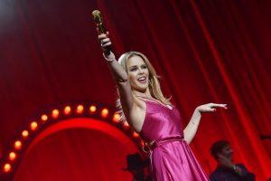 """Kylie Minogue: """"Dopo il cancro realizzo finalmente il mio sogno"""""""