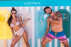 Cecilia Rodriguez e Ignazio Moser a Forte dei Marmi per Cotril