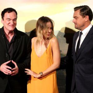 Leonardo DiCaprio e Margot Robbie illuminano il tappeto rosso a Roma