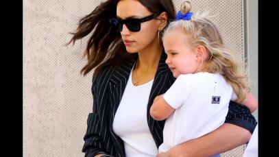 Irina Shayk e Bradley Cooper: genitori modello della loro piccola Lea