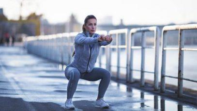 La sfida dei 30 giorni di squat è arrivata ed è perfetta per l'autunno