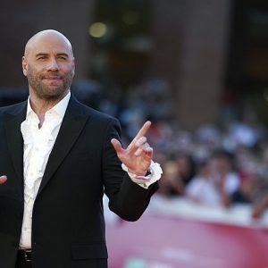 John Travolta a Roma al Festival del Cinema dichiara amore ai suoi fan