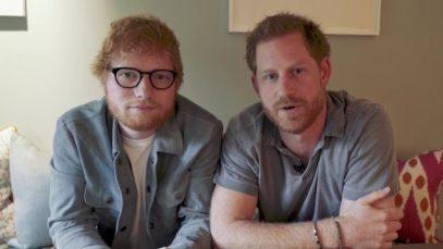 Ed Sheeran e il principe Harry scriveranno una canzone insieme