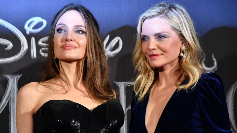 Angelina Jolie e Michelle Pfeiffer a Roma: meglio la mora o la bionda?