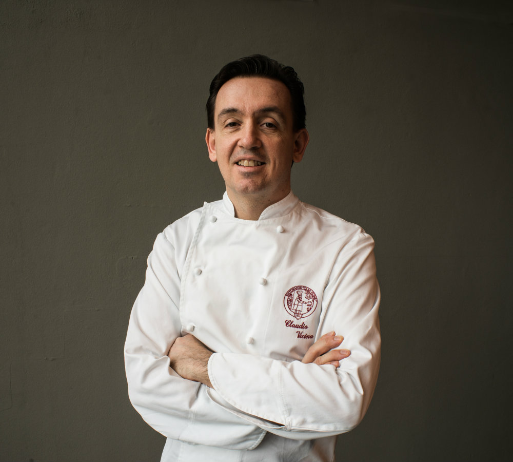nero sake italiano chef claudio vicina