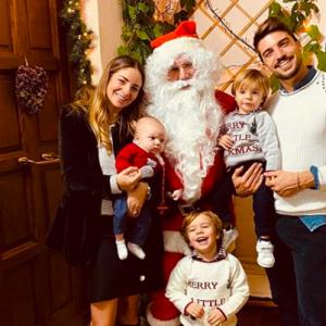 Eleonora Brunacci e Mariano Di Vaio: il perfetto Natale della perfetta famiglia