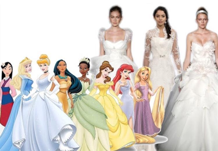 Abiti Da Sposa Walt Disney.Abiti Da Sposa Disney Arriva La Collezione Ispirata Alle Principesse