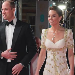 William e Kate ai BAFTA Awards 2020: lei ricicla un Alexander McQueen